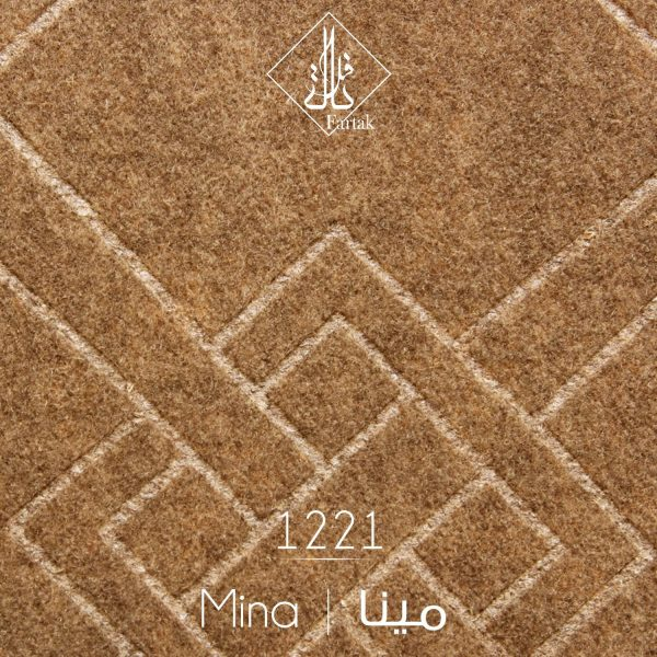 موکت ظریف مصور طرح مینا ۱۲۲۱ |