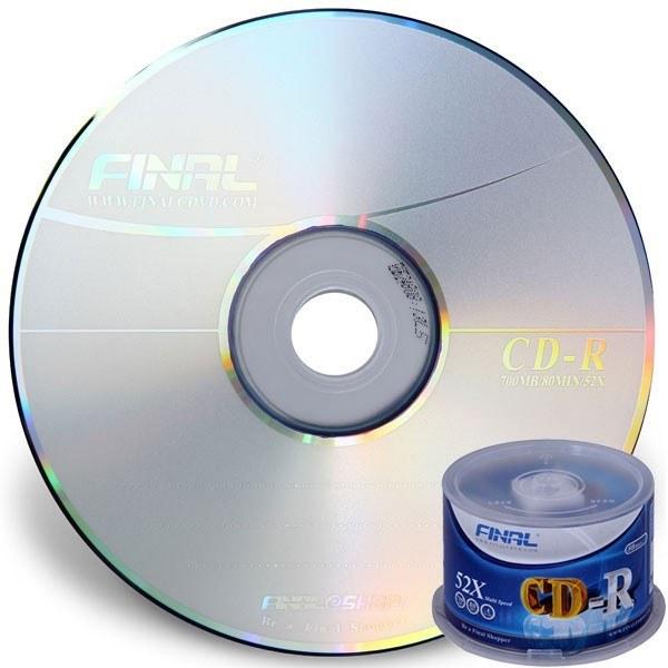 سی دی خام فینال باکسدار 50 عددی |