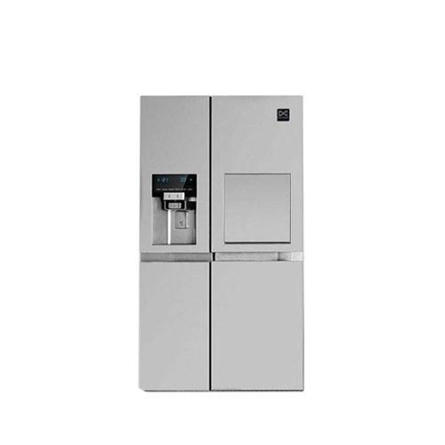 تصویر یخچال و فریزر ساید بای ساید دوو مدل D4S-0033 دو درب Daewoo Prime D4S-0033 Side by Side Refrigerator
