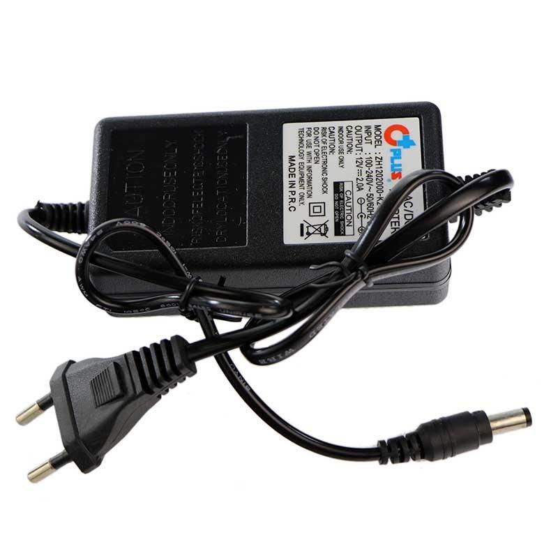 تصویر آداپتور 5 آمپر دوربین مداربسته آداپتور کتابی 5 آمپر | 12 ولت | مناسب انواع دوربین مداربسته و دستگاه DVR - NVR