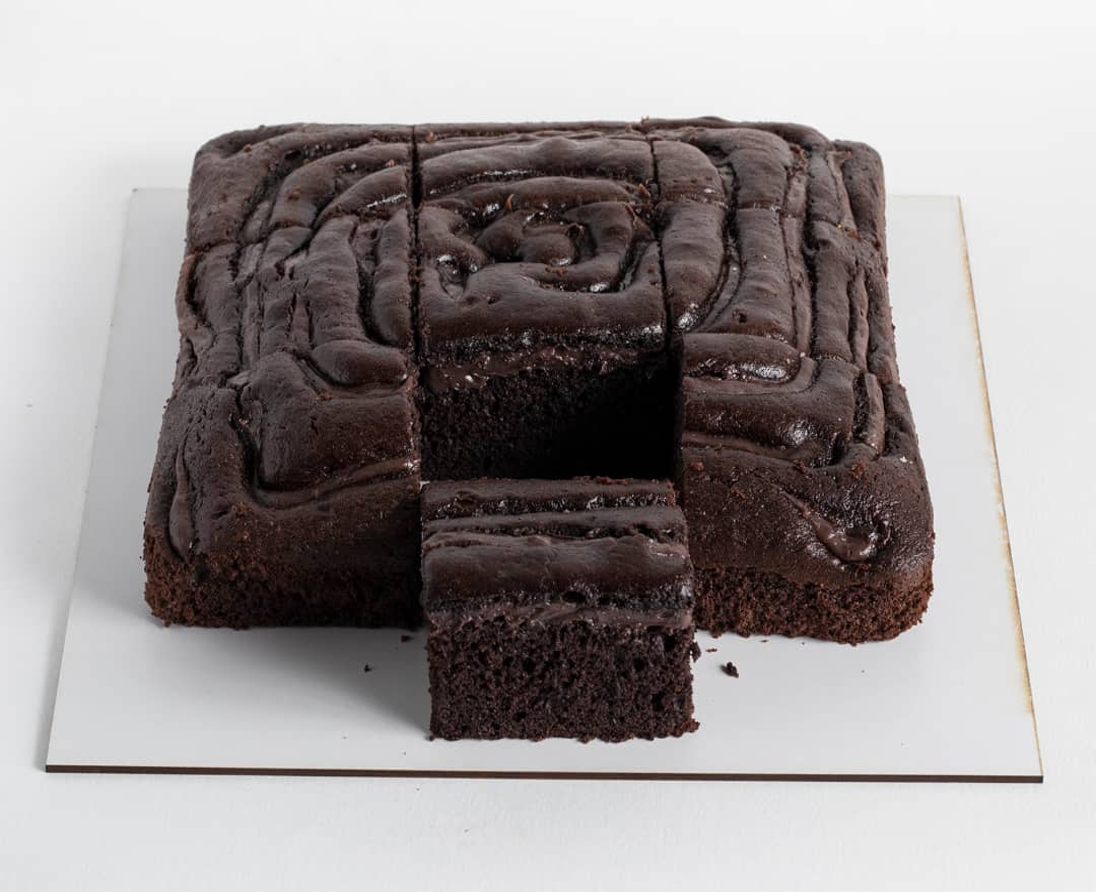 تصویر کیک عصرونه براونی