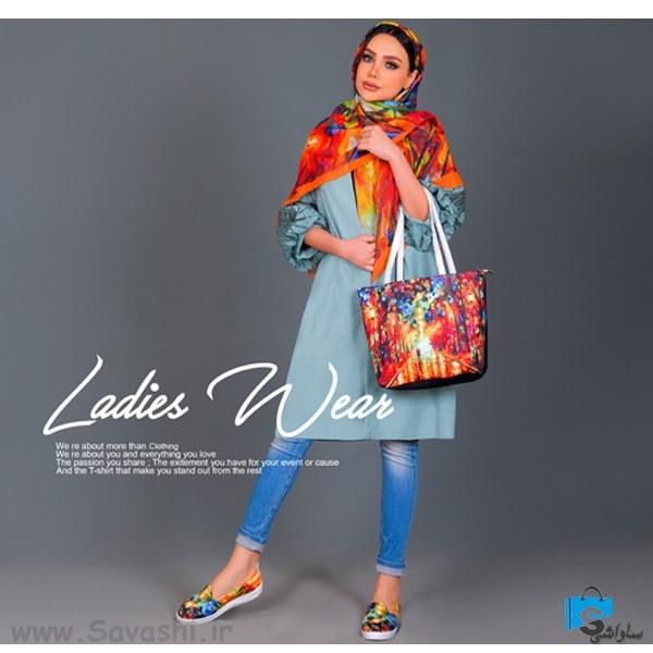 ست کیف و کفش و روسری دخترانه مدل Sharika