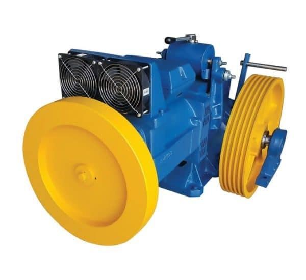 تصویر موتور جدید  آسانسور یاران ۷٫۳k دو سرعته