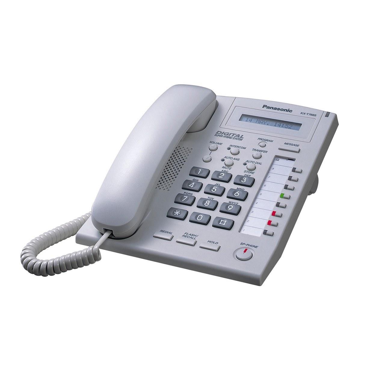 تصویر گوشی تلفن سانترال پاناسونیک Panasonic  Telephone KX-T7665