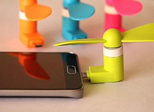 تصویر پنکه موبایل – فروشگاه اینترنتی اولین شاپ