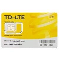 تصویر سیم کارت اینترنت ثابت TD-LTE ایرانسل همراه با بسته یکساله 80 گیگ
