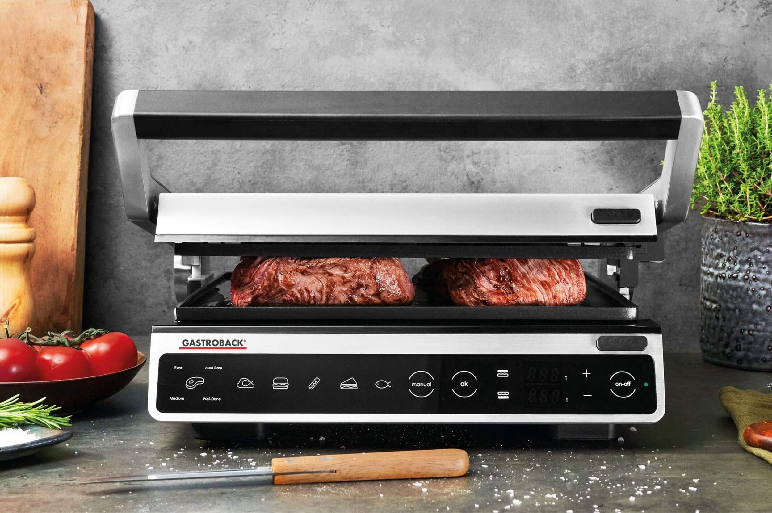 تصویر گریل باربیکیو گاستروبک آلمان Gastroback DESIGN BBQ ADVANCED SMART
