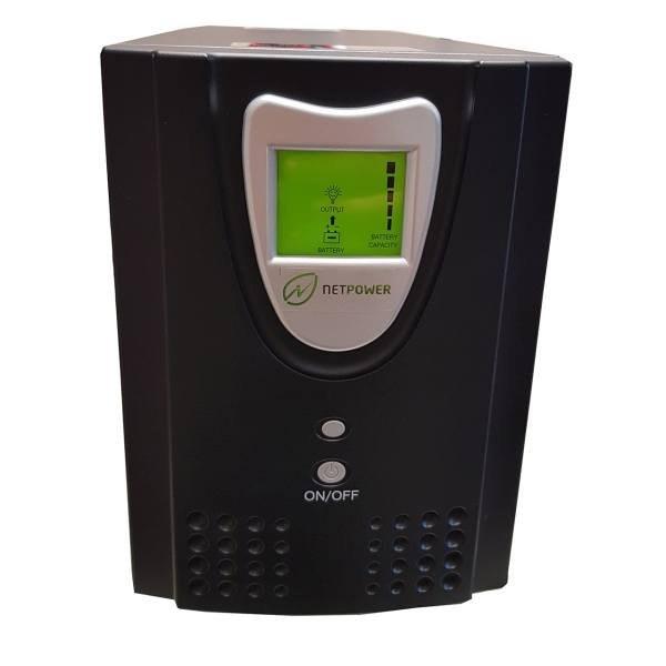 یو پی اس نت پاور  ظرفیت 2000VA باطری داخلی | Netpower UPS 2000VA Internal Battery And LCD