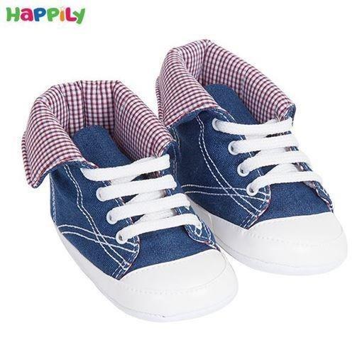کفش نوزادی آلستار لبه دار سایز 2 طرح جین 612301 |
