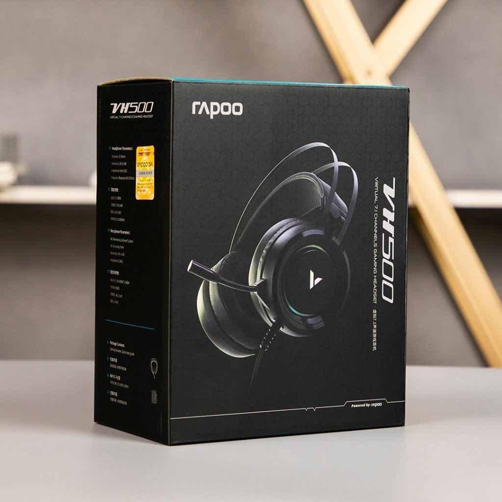 تصویر هدست گیمینگ رپو مدل VH500 Rapoo VH500 Gaming Headset