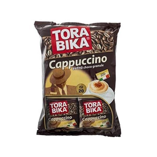 تصویر کاپوچینو ترابیکا Torabika بسته 20 عددی Torabika Cappuccino extra choco granule Pack of 20