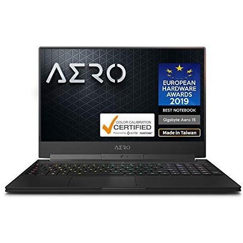 گیگابایت AERO 15-X9-RT5P 15 \u0026quot;Thin Bezel FHD 144Hz IPS، Intel i7-8750H، NVIDIA GeForce RTX 2070، R66 RGB 2666MHz 16GB، M.2 PCIe 1TB SSD، RGB Keyboard، Win10 Pro، 94Wh Metal Chassis Ultra Slim Gapt