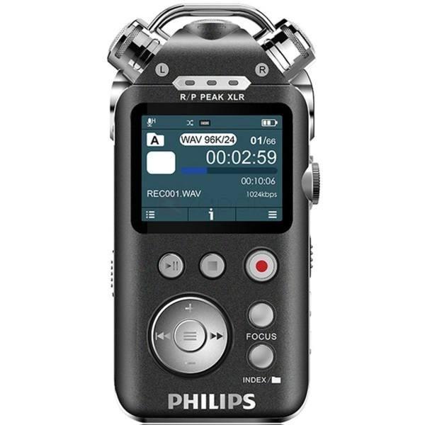 ضبط کننده دیجیتالی صدا فیلیپس مدل وی تی آر 8800 | PHILIPS VTR-8800 16GB Digital Voice Recorder