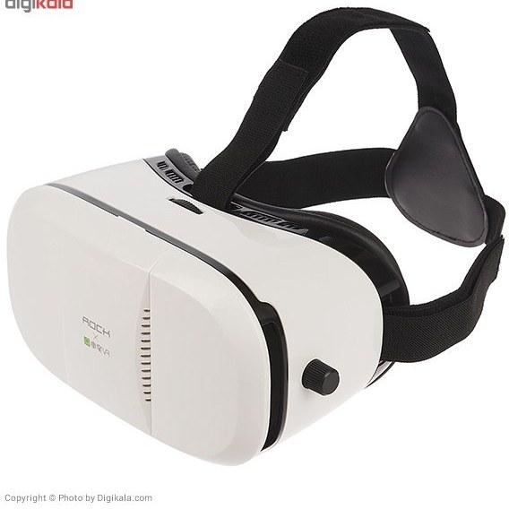 تصویر هدست واقعيت مجازي راک مدل BOBO VR ا Rock BOBO VR Virtual Reality Headset Rock BOBO VR Virtual Reality Headset