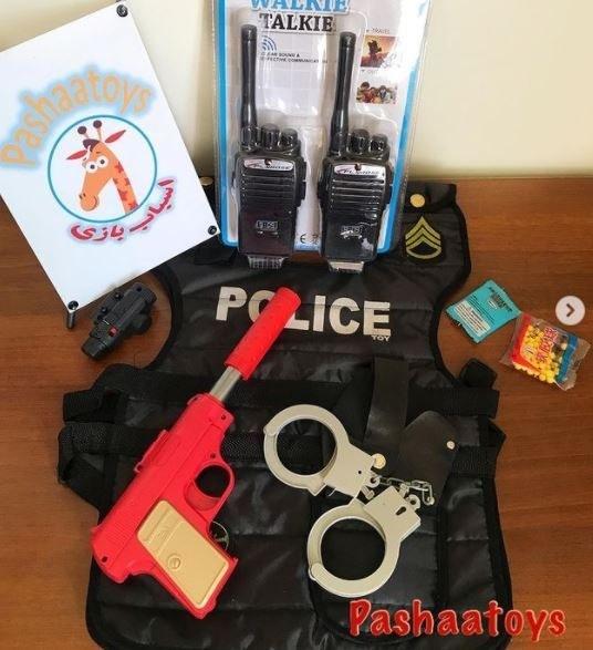 تصویر اسباب بازی پک لوازم پلیس