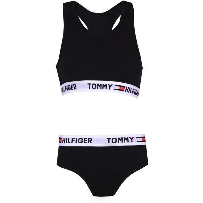 تصویر ست شورت و نیم تنه زنانه تامی هیلفیگر مدل TOM-DD6750012-MES
