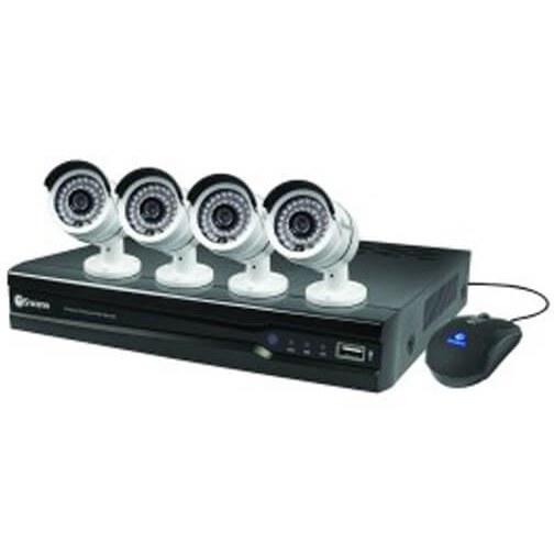 پکیج ۴ کاناله دوربین مداربسته وایرلس بهمراه دستگاه NVR مدل K9604-E5010W