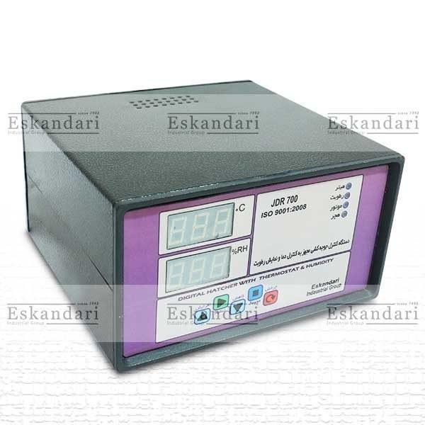 لوازم ساخت دستگاه جوجه کشی (برد کنترل هوشمند جوجه کشی jdr700) |