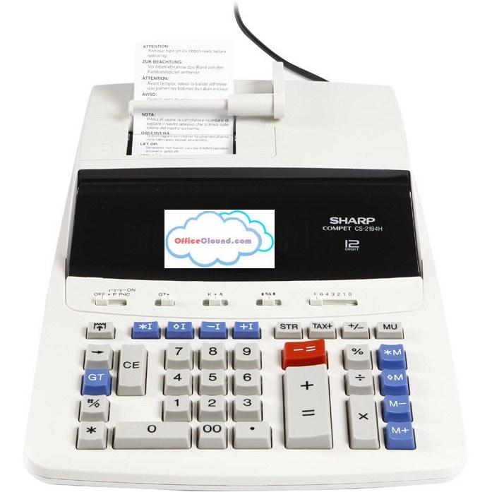 تصویر ماشین حساب حرفه ای مدل CS-2194H شارپ Sharp Professional Model CS-2194H