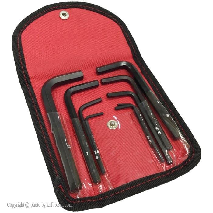 مجموعه 9 عددی آچار آلن ایران پتک مدل SL5010 | IranPotk SL5010 Hex Wrench Extra