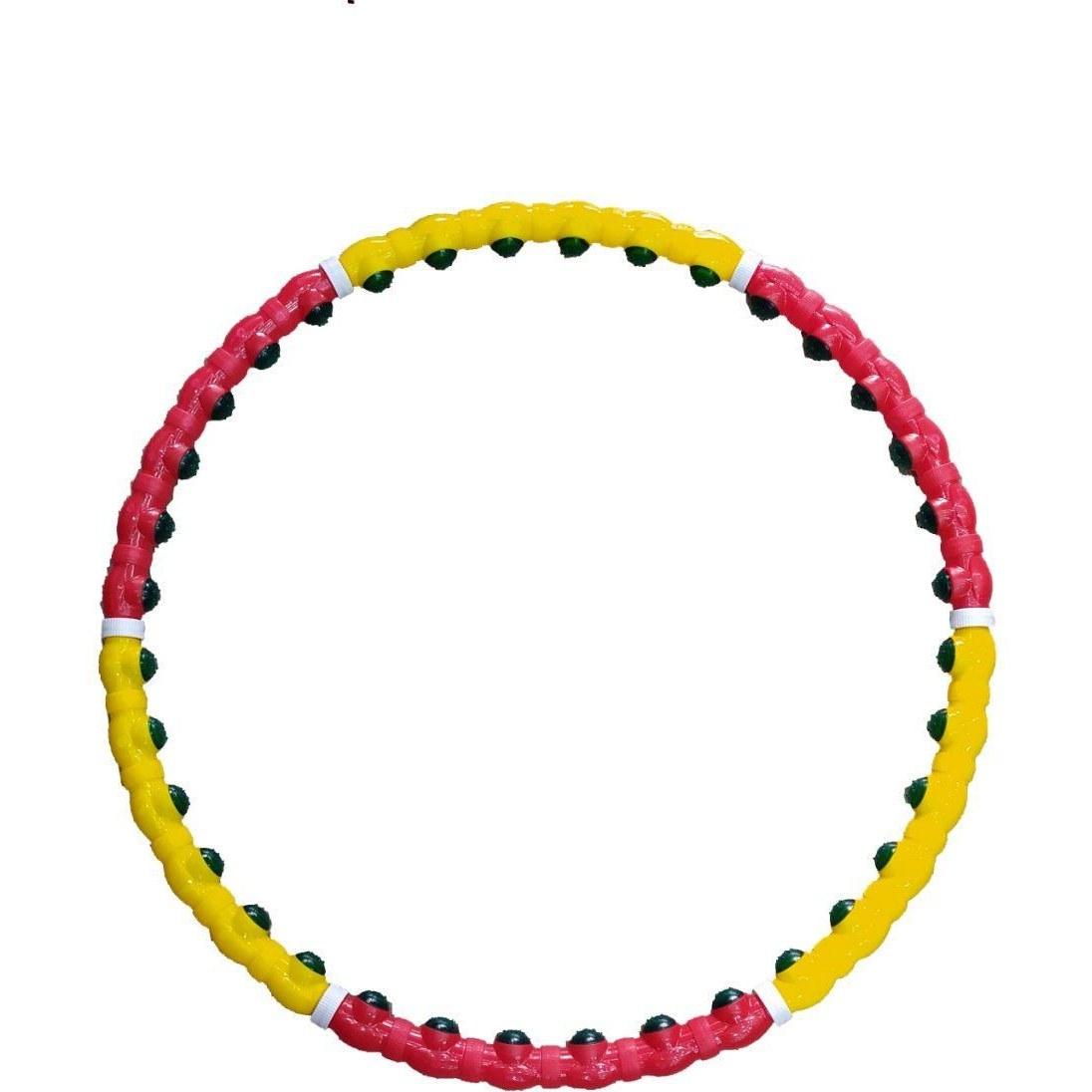 تصویر حلقه لاغری جادو | زرد و قرمز رنگ