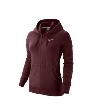 هودی زنانه نایک Nike Jersey Zip Through Hoodie 614829-619