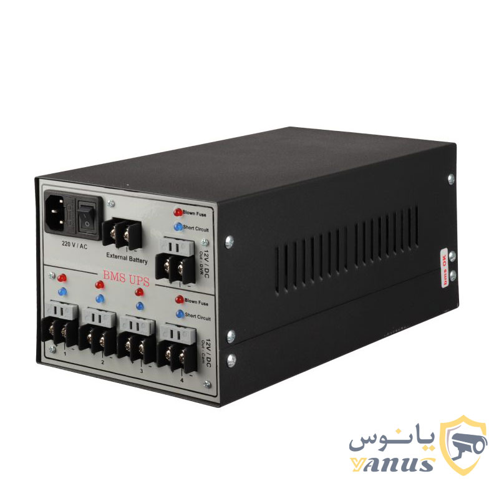 image برق اضطراری یو پی اس دوربین مدار بسته مدل 10A/4.5