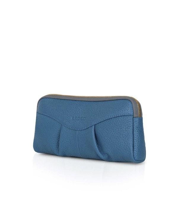 تصویر کیف آرایشی چرم کروکو Croco Leather مدل ییلدیز