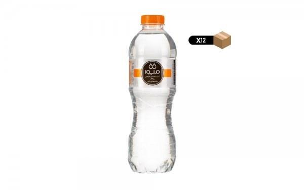 تصویر آبمعدنی 500 میلیلیتری میوا بسته 12 عددی
