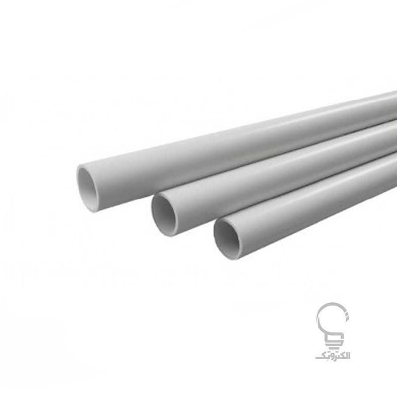 تصویر لوله برق PVC استاندارد سایز 21 دانوب