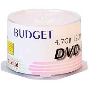 تصویر DVD خام باجت باکس دار 50 عددی