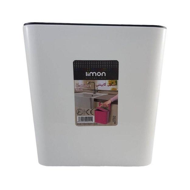 تصویر سطل  زباله لیمون مدل کابینتی تاچ