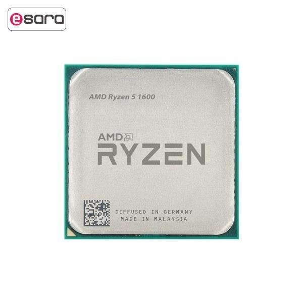 تصویر پردازنده مرکزی ای ام دی مدل Ryzen 5 1600 ا AMD Ryzen 5 1600 CPU AMD Ryzen 5 1600 CPU
