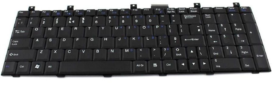 کیبورد لپ تاپ ام اس آی مدل سی آر ۶۰۰