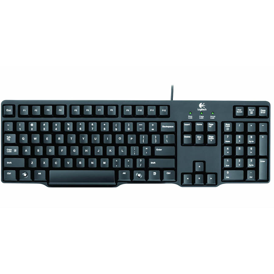 تصویر Logitech K100 Classic PS2 Keyboard کیبورد باسیم لاجیتک مدل K100