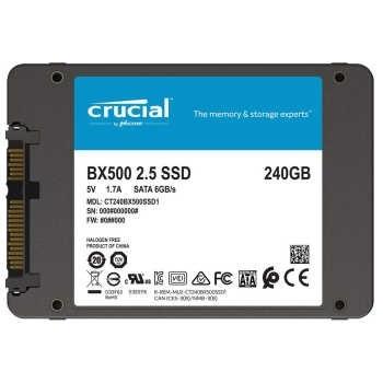 حافظه اس اس دی کروشیال مدل BX500 با ظرفیت 240 گیگابایت