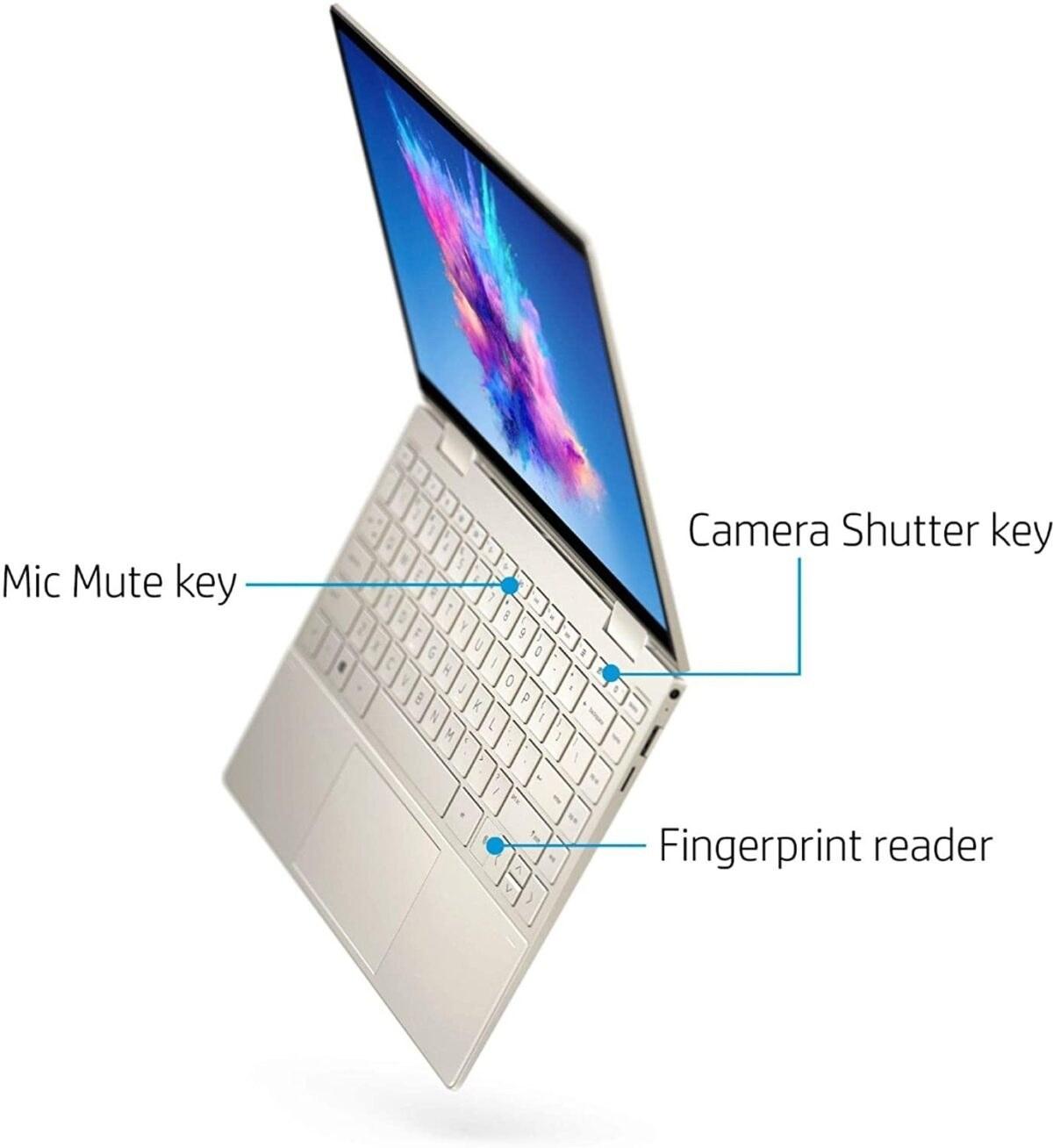 تصویر لپ تاپ ۱۳ اینچی HP ENVY X360 13m-Bd0023dx