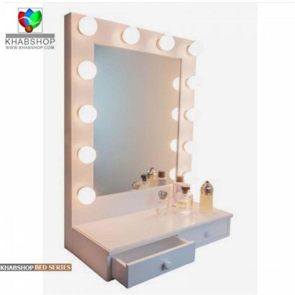 ست میز آرایش و آینه چراغ دار 13