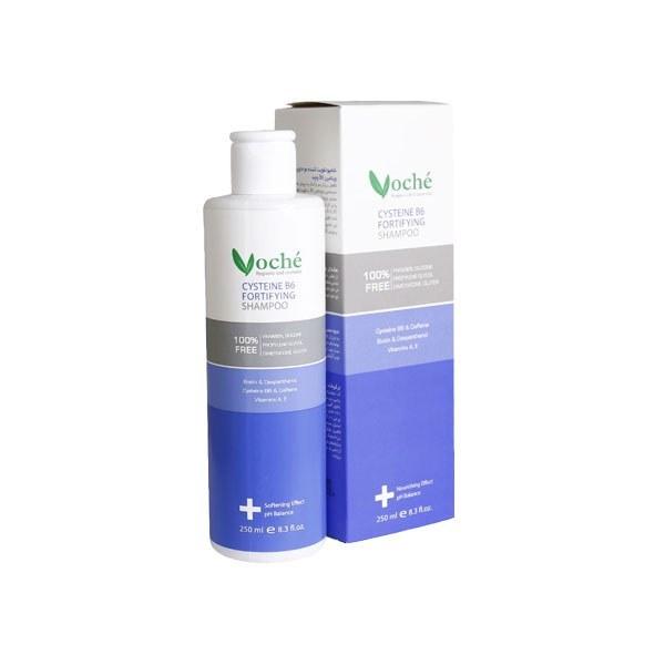 عکس شامپو تقویت کننده مو سیستین وچه Fortifying Hair Shampoo 250ml VOCHE شامپو-تقویت-کننده-مو-سیستین-وچه