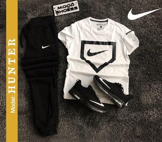 ست تیشرت و شلوار Nike مدل Hunter |