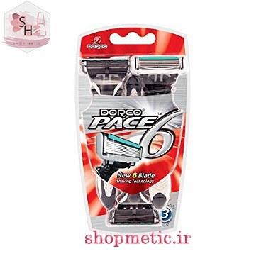 تصویر خود تراش دورکو مدل Pace 6 بسته 3 عددی ا Pace 6 Pace 6