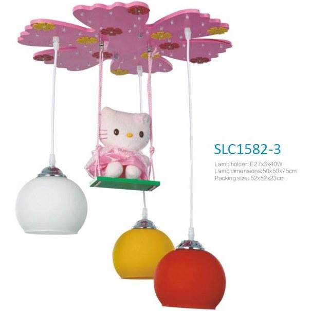 لوستر اتاق کودک(کد: slc1582-3) |