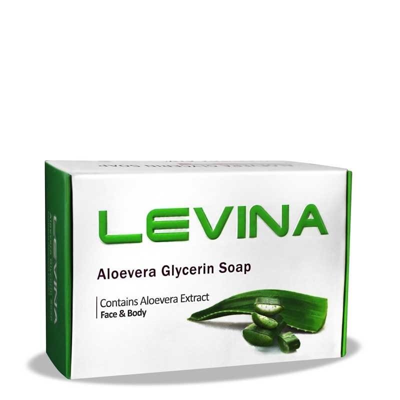 صابون گلیسرینه آلوئه ورا لوینا Lovina Aloe-Vera Glycerin Soap