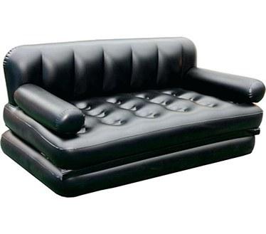 تصویر کاناپه بادی تخت شو دو نفره قابل حمل اینتکس