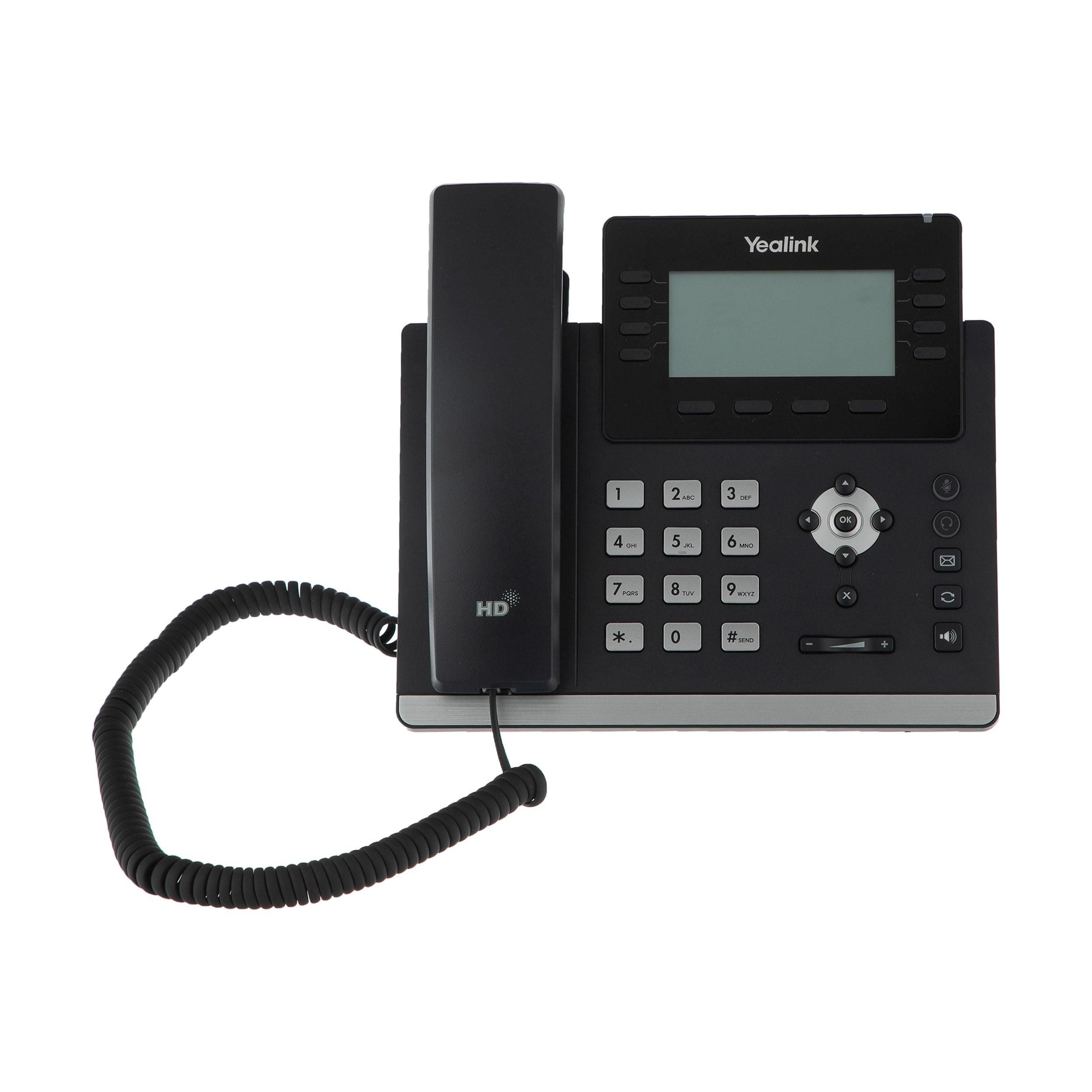 تصویر تلفن تحت شبکه یالینک مدل SIP-T43U Yealink SIP-T43U IP Phone