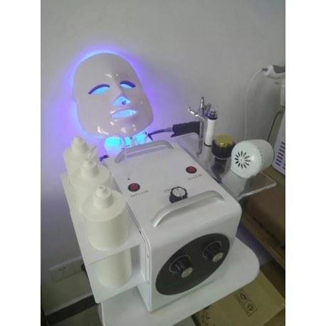 تصویر دستگاه فیشیال صورت آکواپیل ۵ کاره کره ای ۵in1 AquaPeel Up Korea