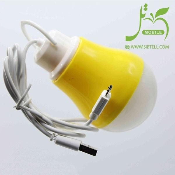 تصویر لامپ یو اس بی LED مدل star