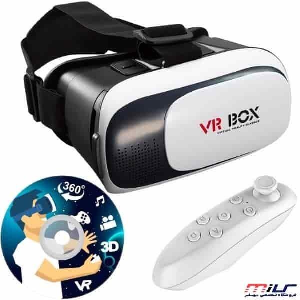 هدست واقعیت مجازی وی آر باکس مدل VR Box 2