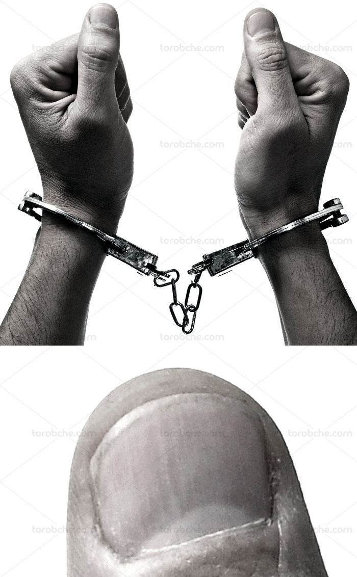 image عکس دستبند پلیس با کیفیت عالی
