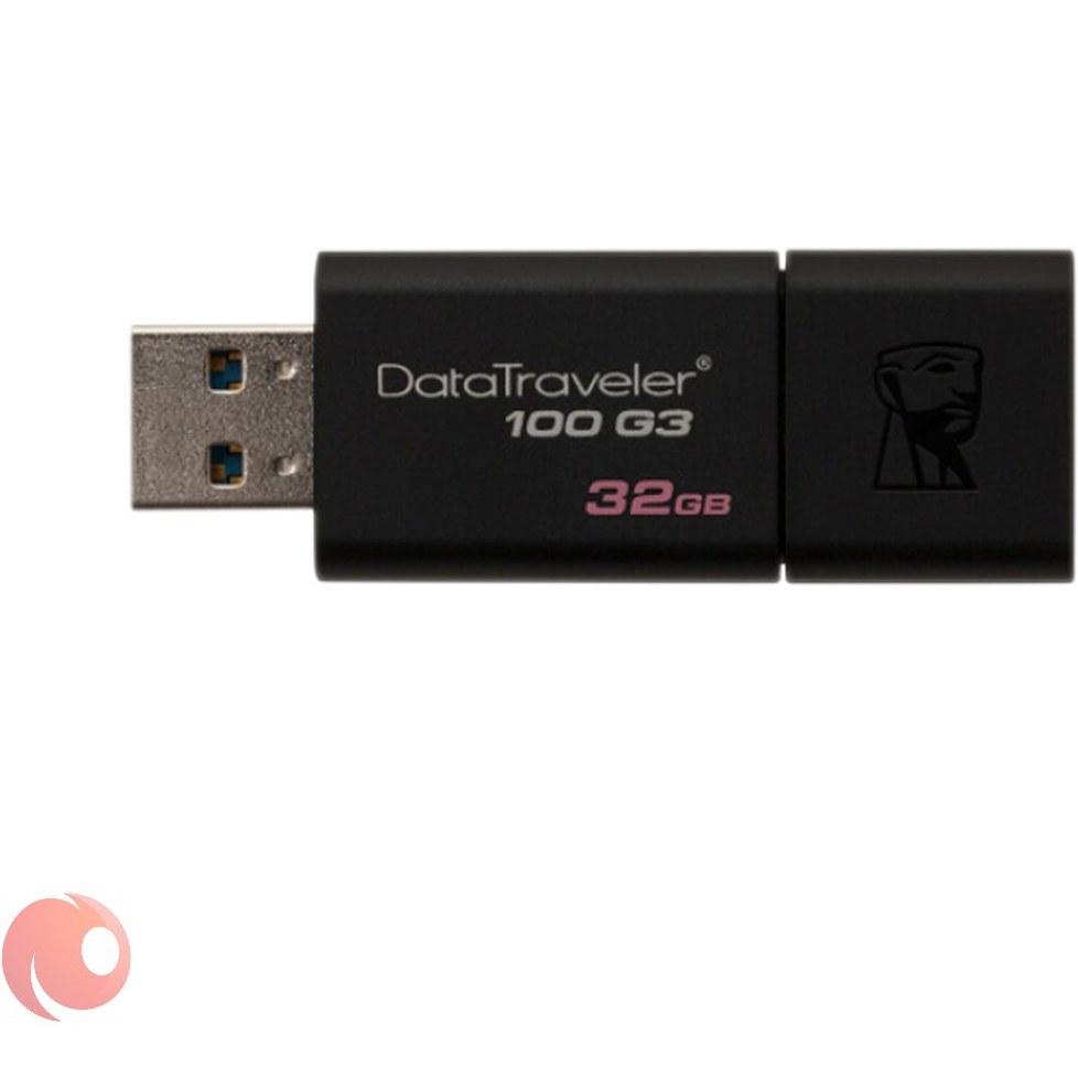 main images فلش مموری کینگستون با ظرفیت 32 گیگابایتی  USB3.0
